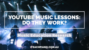 Youtube music lessons picture of a rock concert