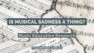 new blog post on music and emotions